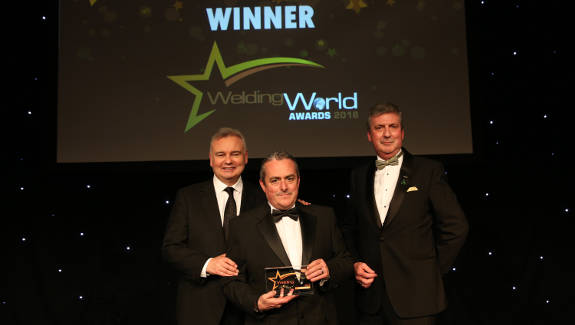 Weldability Sif Foundation honoured with prize at prestigious event