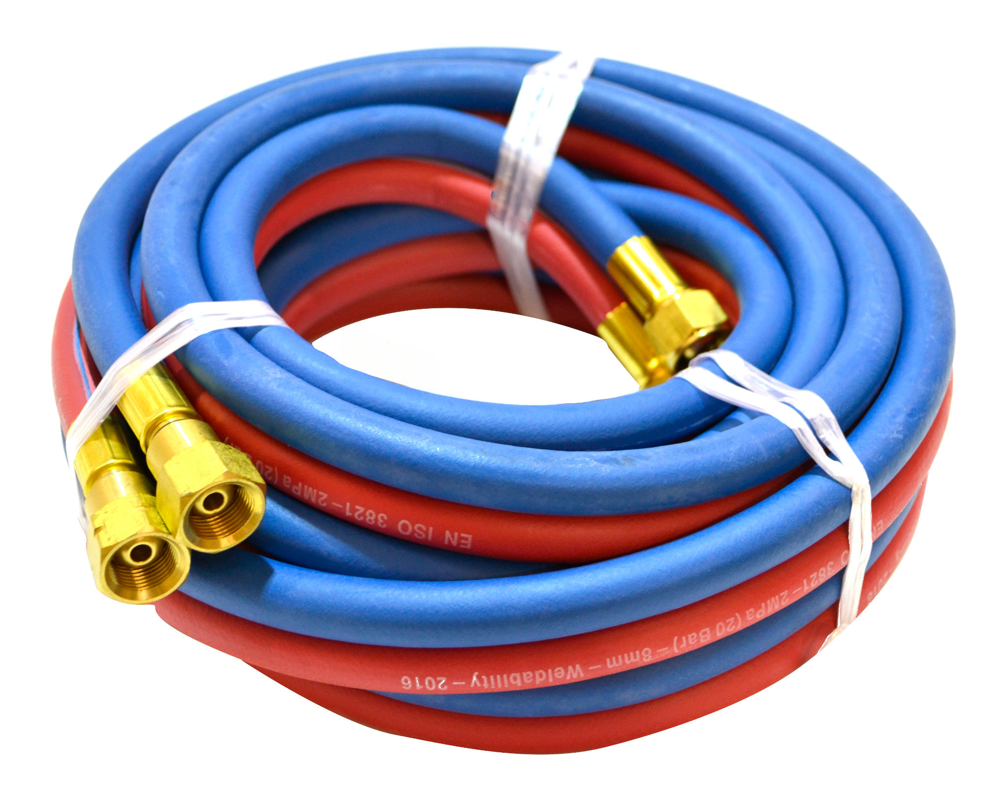 6MM 5M 1/4 FT OXY/ACET TWIN HOSE