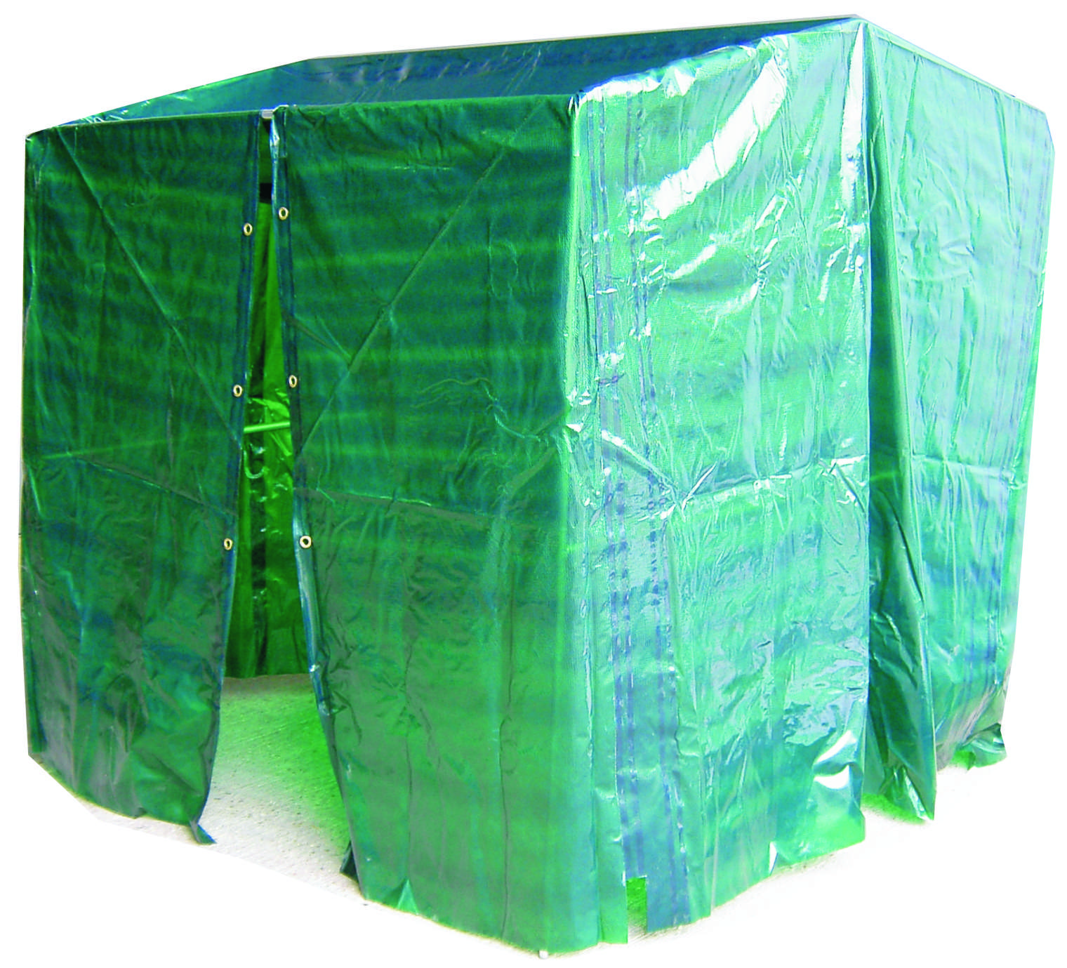 WORK SHELTER TRANS GREEN COVER