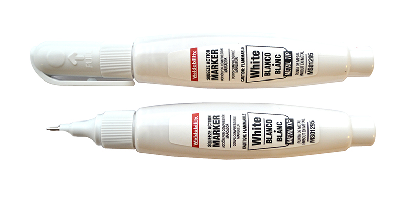 SQUEEZE ACTION MARKER WHITE
